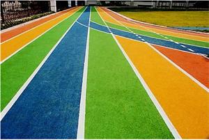 梅溪湖国际幼儿园塑胶跑道