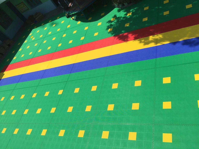 室外悬浮地板